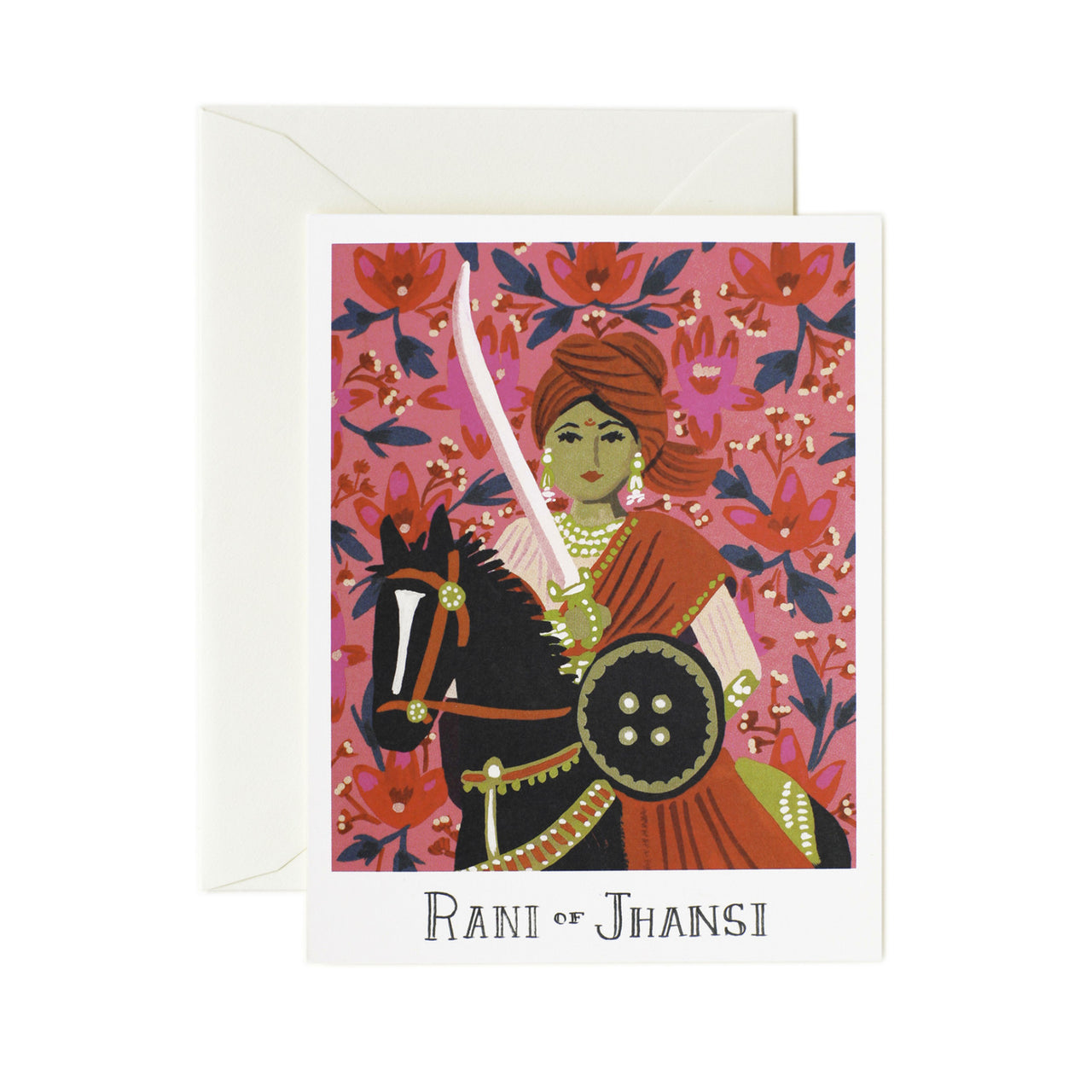 Rani of Jhansi Card - Northlight Homestore
