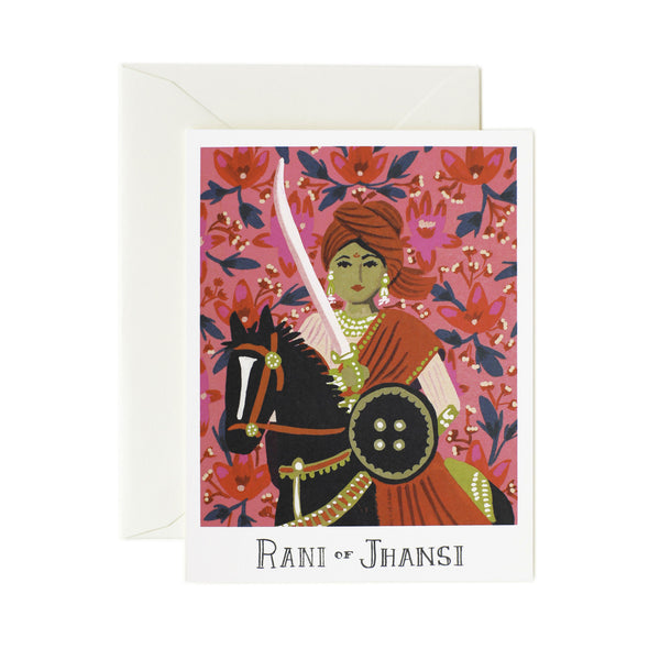 Rani of Jhansi Card