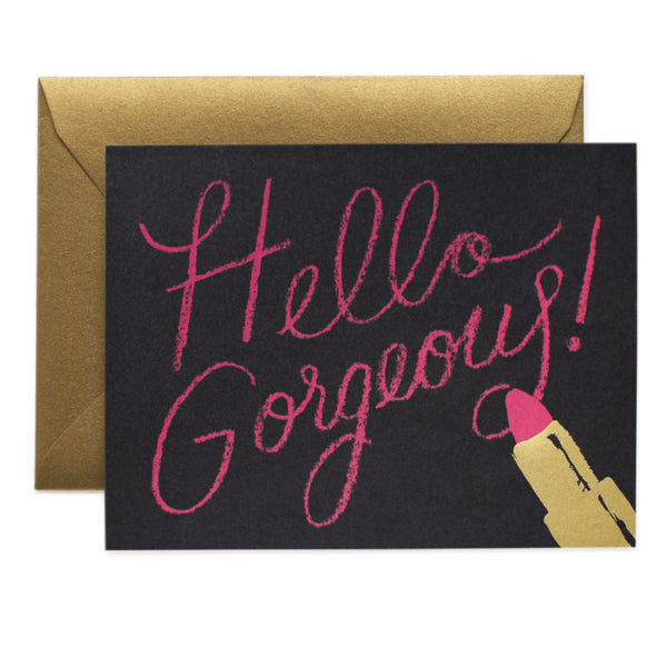 Hello Gorgeous Card - Northlight Homestore