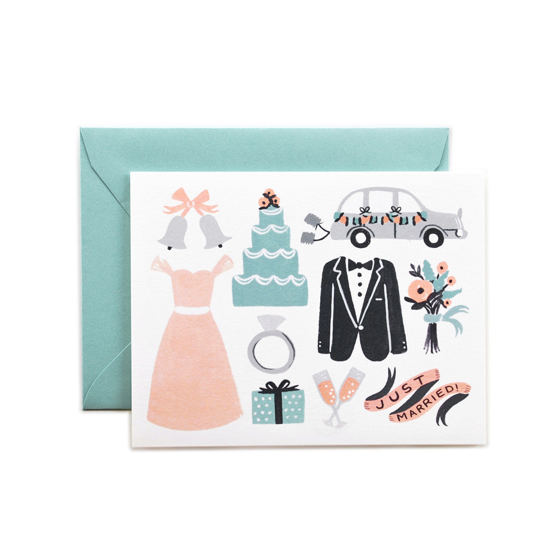 Just Married Card - Northlight Homestore