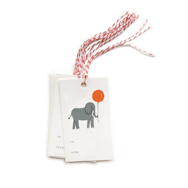 Elephant Gift Tags - Northlight Homestore