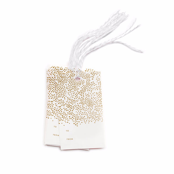 Champagne Gift Tags - Northlight Homestore