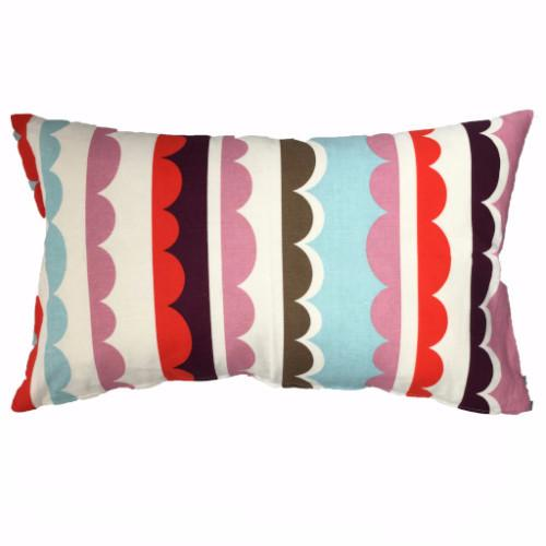 Krinolin Mallow/Multi 40x60cm Linen/Cotton Cushion