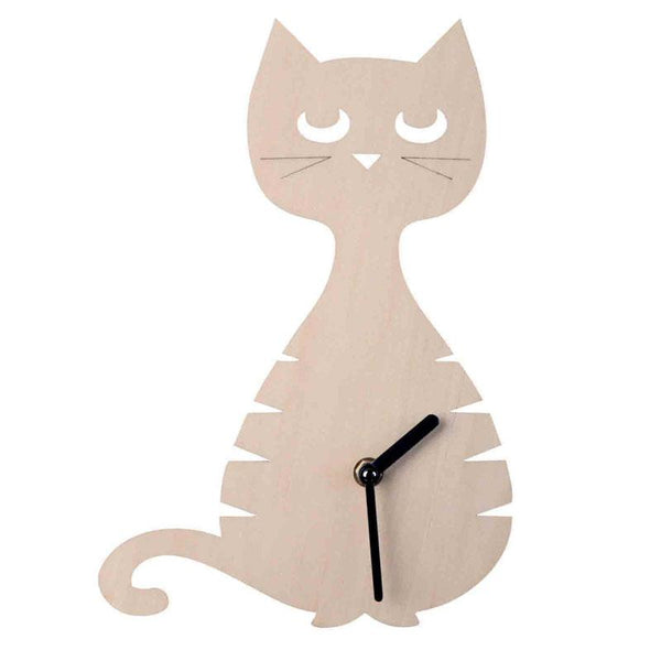 Cat Clock - Northlight Homestore