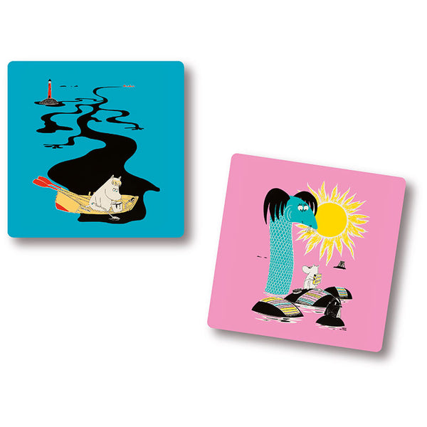 Moomin Keep Sweden Tidy 9x9cm Set Of 4 Coasters