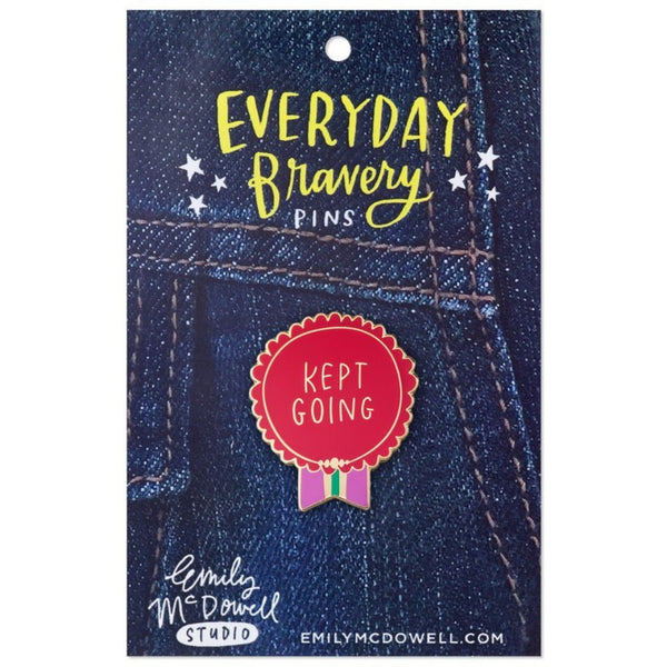 Kept Going Enamel Pin - Northlight Homestore