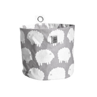 Lamb Grey Hang Storage - 2 Sizes Available - Northlight Homestore