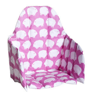 Lamb Seat Pink Cushion - Northlight Homestore