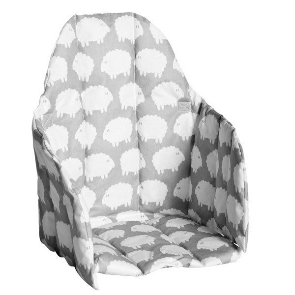 Lamb Seat Grey Cushion - Northlight Homestore