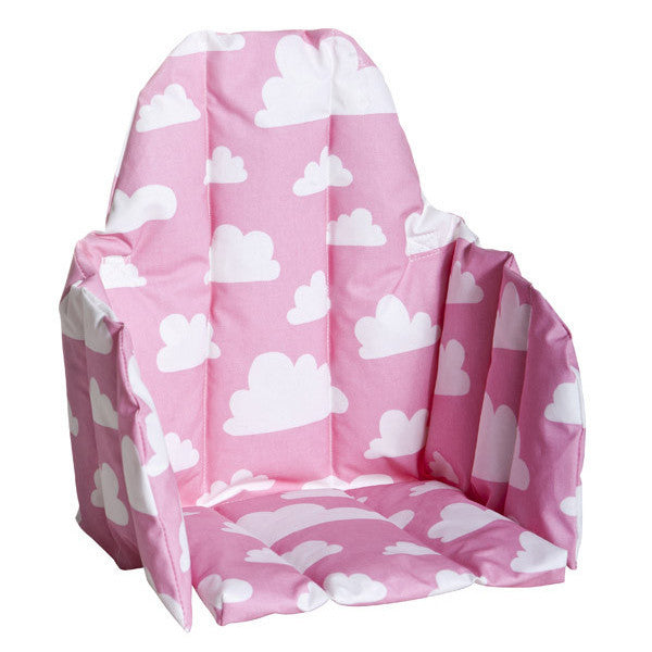 Moln Cloud Pink Seat Cushion for High Chair