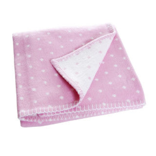 Prickig Pink Children's Blanket
