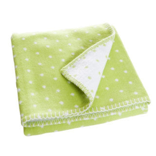 Prickig Light Green Children's Blanket