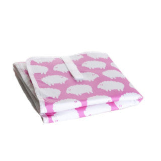Lamb Pink Foldable Change Mat