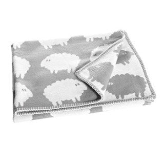 Lamb Grey Children's Blanket