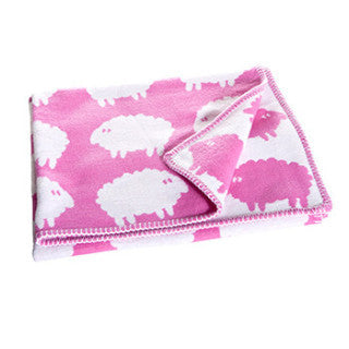 Lamb Pink Children's Blanket