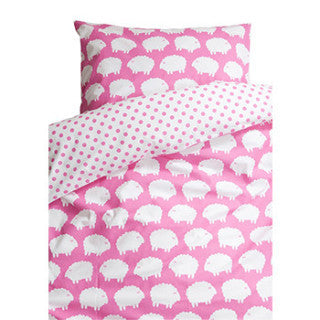 Lamb Pink Children's Bed Set (Single) 150cm x 210cm