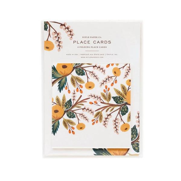 Autumn Berry Place Cards