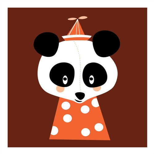 Marionette - Posey Panda Greetings Card - Northlight Homestore