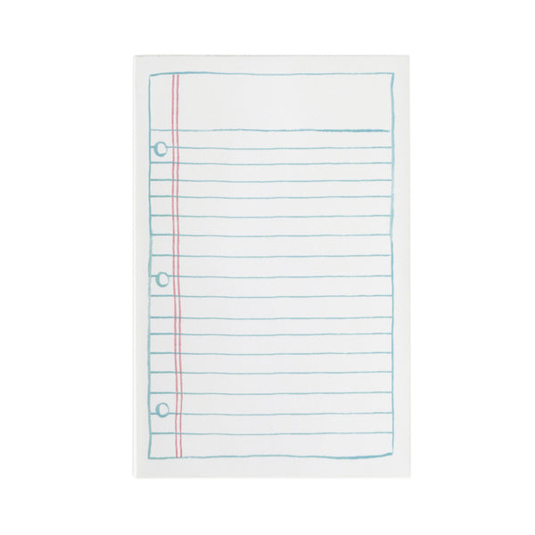 Lined Paper Notepad - Northlight Homestore