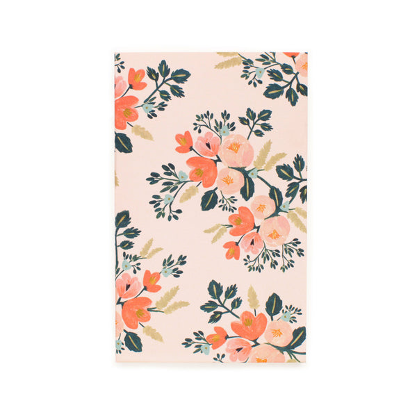 Botanical Rose Pocket Notepad - Northlight Homestore