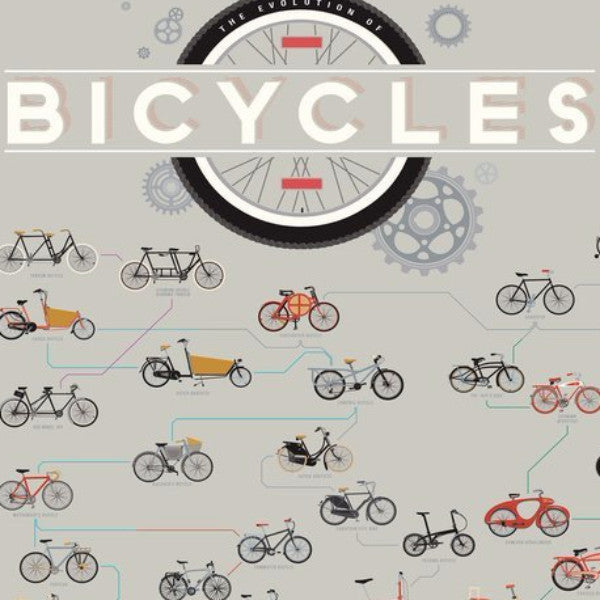 The Evolution of Bicycles - Northlight Homestore