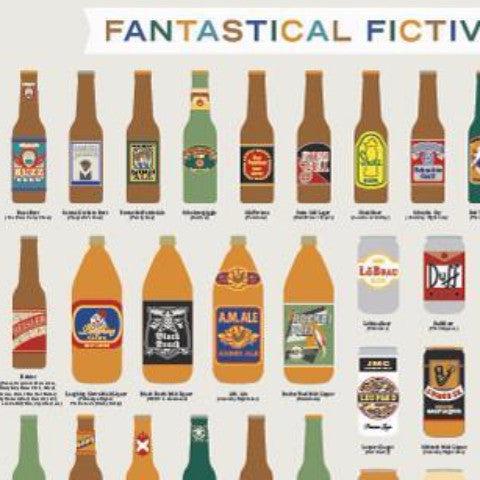 Fantastical Fictive Beers - Northlight Homestore