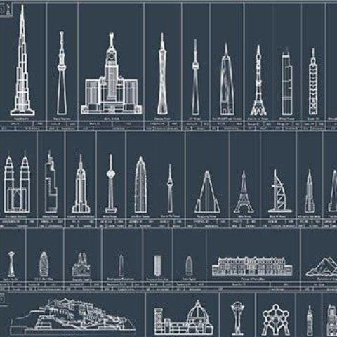 Structures of New York Poster