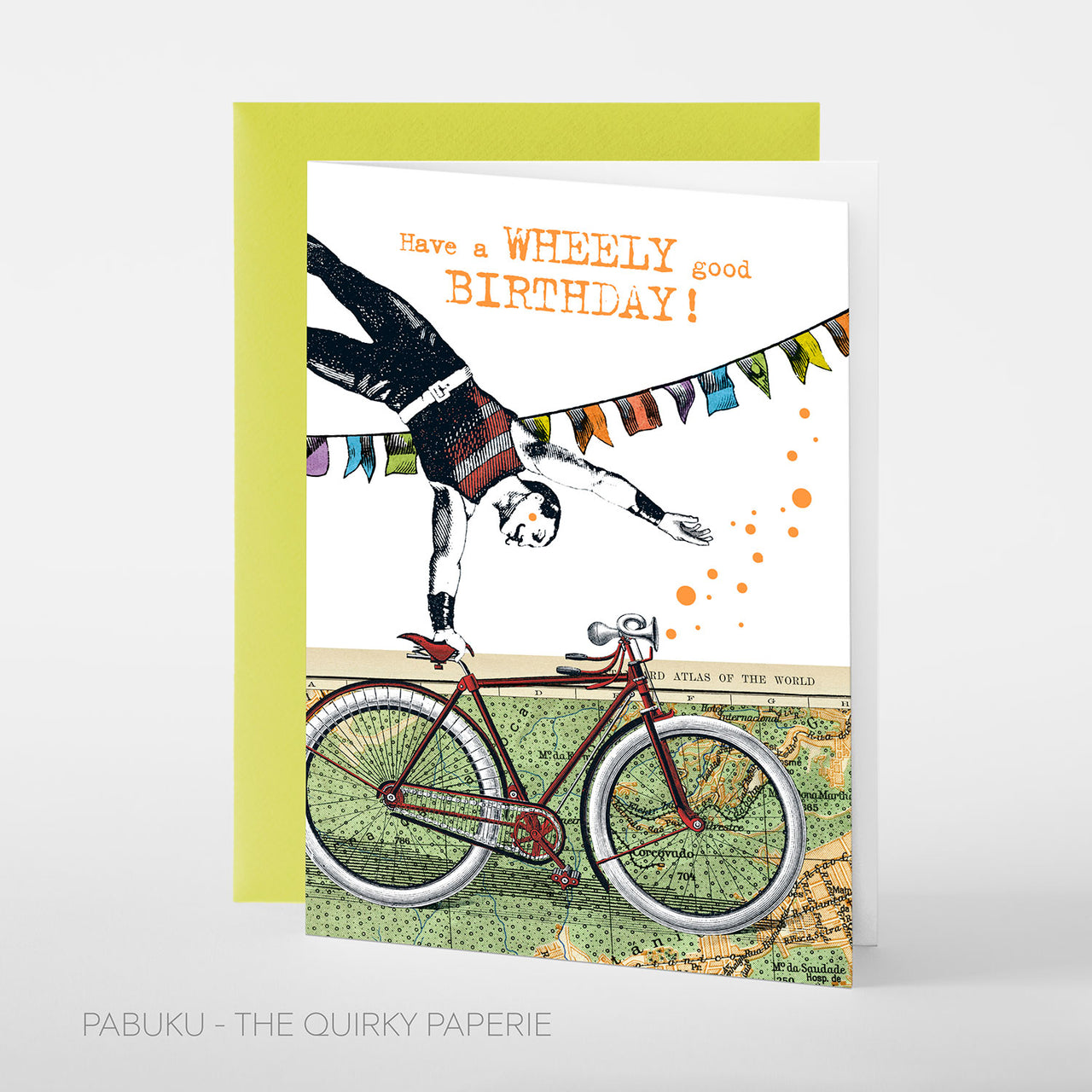 Wheely Birthday Card - Northlight Homestore