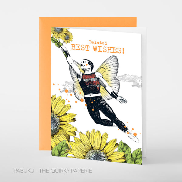 Belated Best Wishes Card - Northlight Homestore