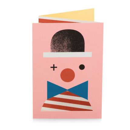 Pantomime 3D Clown Card - Northlight Homestore