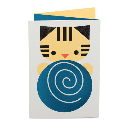 Pantomime 3D Cat Card - Northlight Homestore