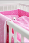 Prickig Pink Children's Bed Set 130x100cm - Northlight Homestore