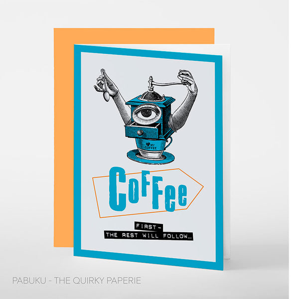 Coffee First Card