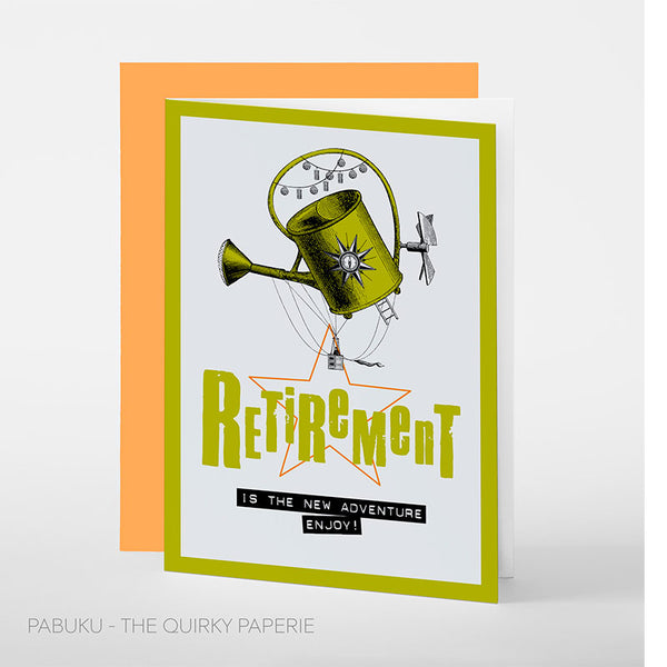 Retirement Is The New Adventure Card