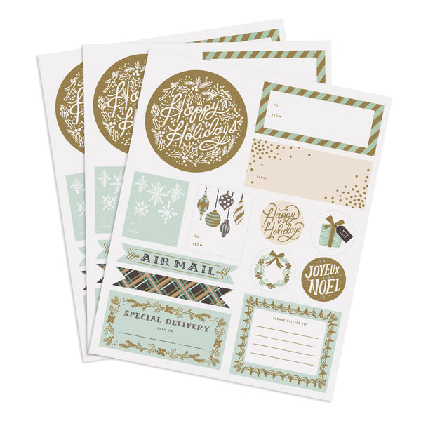 Holiday Wonderland Stickers & Labels