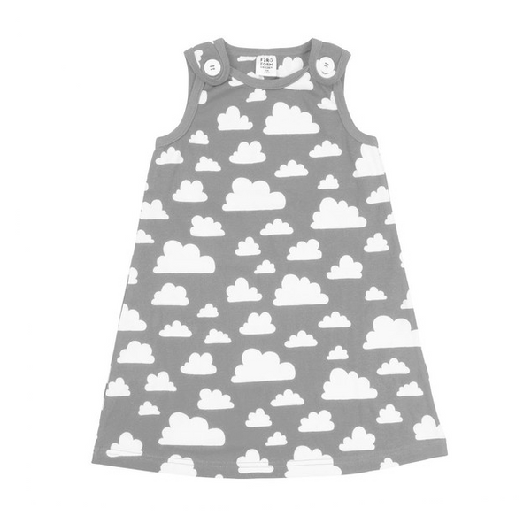 Moln Cloud Grey Dress - Various sizes - Northlight Homestore