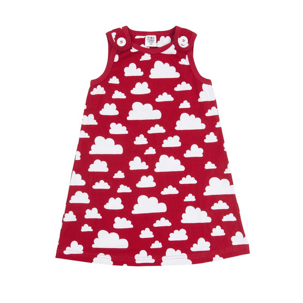 Moln Cloud Red Dress - Various sizes - Northlight Homestore