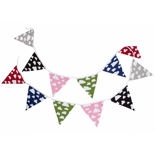 Moln Cloud Pennant (Bunting) - Northlight Homestore