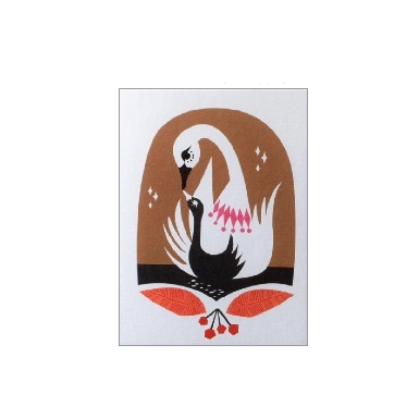 Little Wonders Swan Lake Card - Northlight Homestore