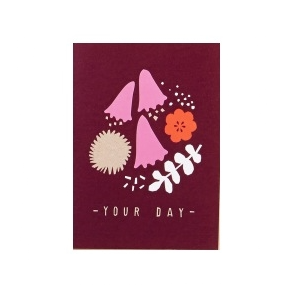 Bloom Your Day Greetings Card - Northlight Homestore