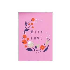 Bloom With Love Greetings Card