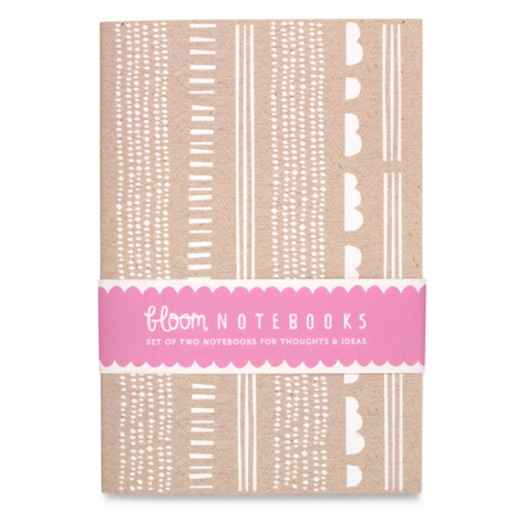 Bloom Berry Red & Confetti Notebook Set - Northlight Homestore
