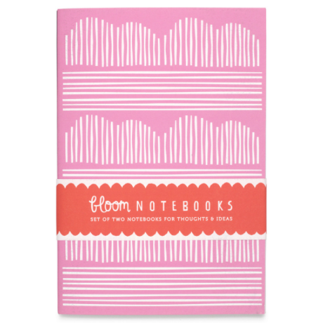Bloom Pink Cherry Blossom Notebook Set