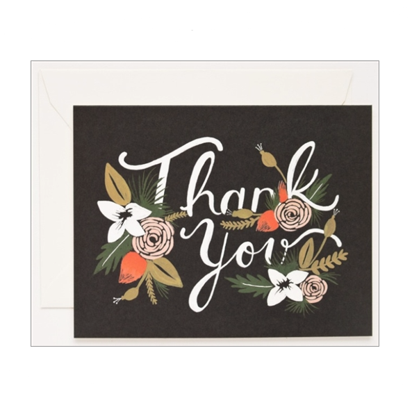 Breanne Thank You Card - Northlight Homestore