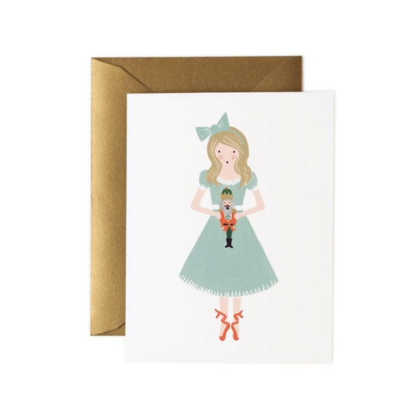 Clara Nutcracker Card