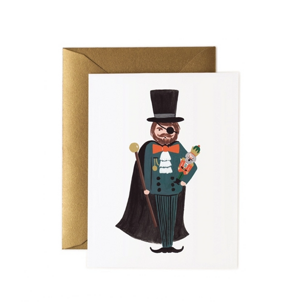 Drosselmeyer Nutcracker Card