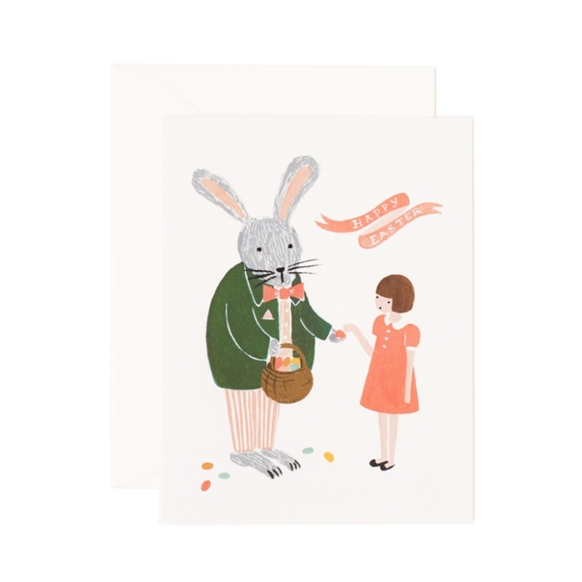 Easter Bunny Card - Northlight Homestore