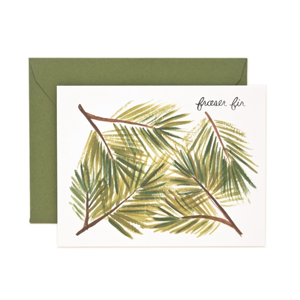 Fraser Fir Card - Northlight Homestore