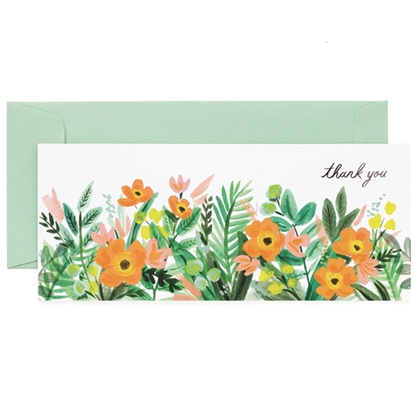Honeydew Thank You Card - Northlight Homestore