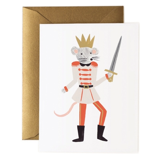 Mouse King Nutcracker Card